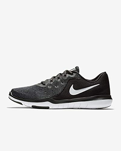 Nike Women's Flex Supreme TR 6 Training Shoe Size 8 Black/White/Anthracite
