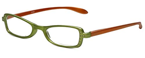 Calabria 837 2-Tone Reading Glasses w/Hard Case