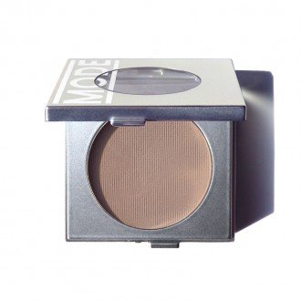Velvet Pure Eye Shadow (MODE Eyeshadow Absolute AGAIN & AGAIN (Matte Warm Nude Brown) Silky Velvet Pressed Powder, Potent Eye Color, Exceptional Wear, Skincare Benefits of Pink Peony + Areni Noir Extracts/Cruelty Free/NY USA)