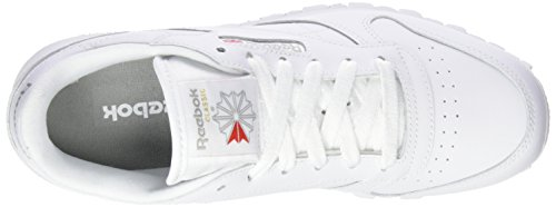 Reebok Jungen Classic Leather Low-Top Weiß (White)