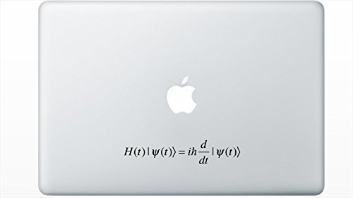 Schrodinger's Equation decal by Buttered Kat (Black)