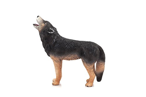 MOJO Wolf Howling Toy Figure (Howling Wolf Wolf)