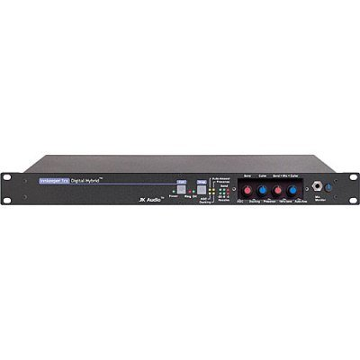 Digital Hybrid Rackmount (JK Audio Innkeeper 1rx Single Channel Digital Hybrid in Rack-Mount Chassis, Balanced XLR-F Mic/Line Input, RJ11C Phone Line)