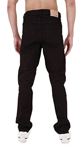 Super Jeans Da Resistente Per Uomo Basics Basic Black AwZpqHzw