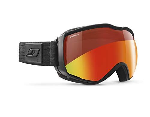 (Julbo Mens Aerospace Goggles, Black Frames with Orange Lenses)