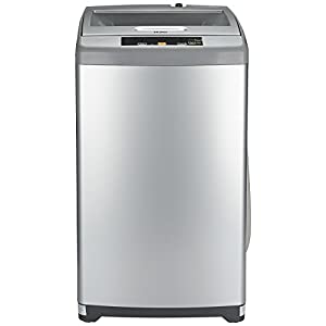 Haier 6.2 kg Fully-Automatic Top Loading Washing Machine (HWM62-707NZP, Silver Grey)