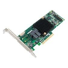 Adaptec Series 8 RAID Adapters - 12Gb/s SAS - PCI Express 3.0 x8 - Plug-in Card - RAID Supported - 0, 1, 1E, 5, 6, 10, 50, 60 RAID Level - 8 SAS Port(s)