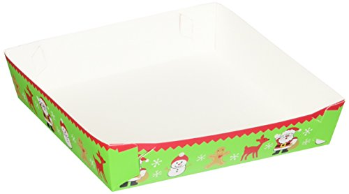 (Wilton Christmas Cookie Gifting Trays, 4-Count)