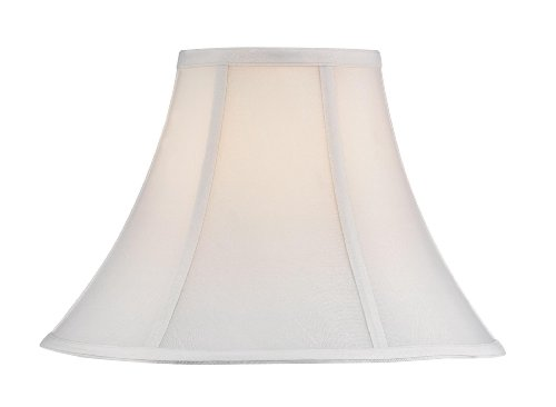Dolan Designs 160060 Round Bell Softback Shade, White ()