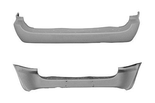 (PTM CH1100219 Rear Bumper Cover for Chrysler Town & Country, Dodge Caravan )
