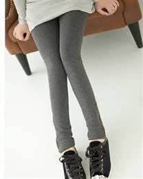 Middle Rise Solid Casual Straight Leg Skinny Women Tight Legging Zipper Trousers