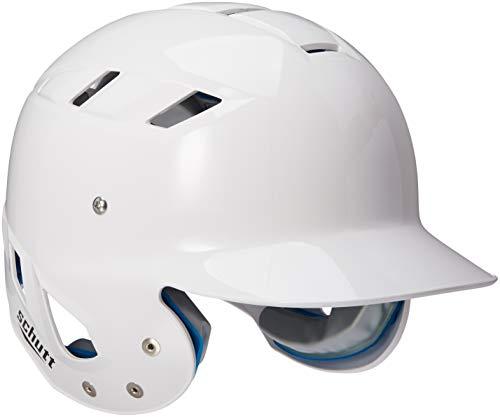 Schutt Sports AiR Maxx T Baseball Batter's Helmet, High Gloss White, - Batting Helmet Schutt White