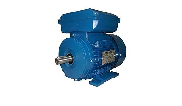 Motores electricos de ALTA CALIDAD 1500 RPM con brida B14 DOJA Industrial 0,09 KW - 0,12 CV Motor Electrico Monofasico 220v