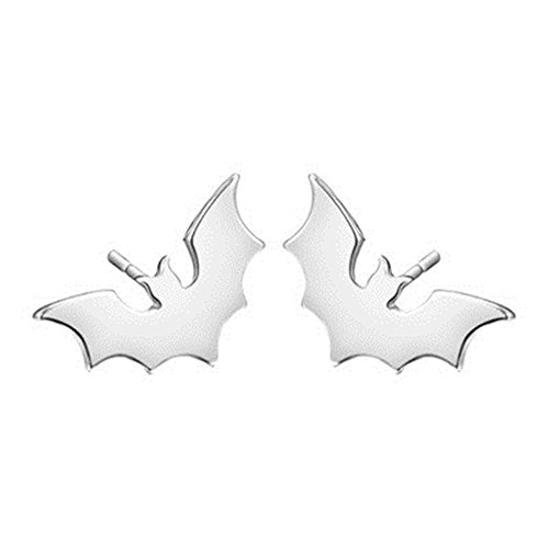 Fashionable bat wings alloy ear nail animal earrings