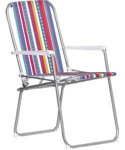 Merveilleux Striped Folding Picnic Chair (6510439)