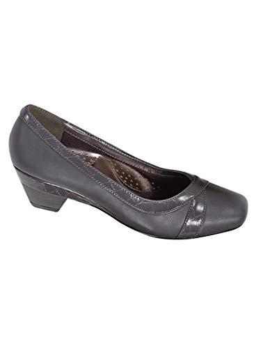 AngelSteps Women's Adult Tulsa Synthetic Pumps Shoes Dress Shoes 7 Medium US Women/Gray