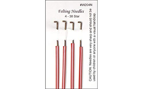 WISTYRIA EDITIONS Felting Needles, 4-Pack (W204N)