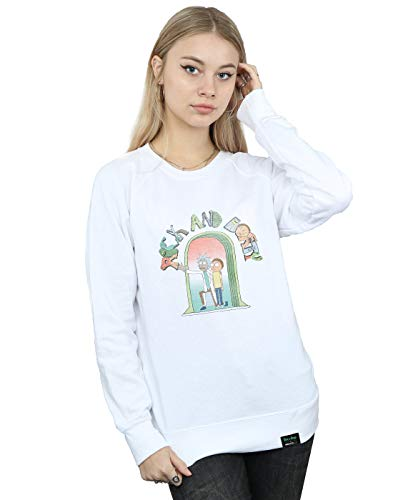 De And Absolute Doors Camisa Icon Blanco Mujer Cult Entrenamiento Rick Morty 1nqnf8OP