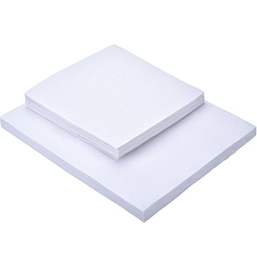 Buy Discount Outus Tear Away Machine Embroidery Stabilizer Backing 100 Precut Sheets Medium Weight 1...