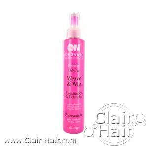 ON Organic Natural Premium Oil-Free Weave & Wig Spray Pomegranate 8 fl oz