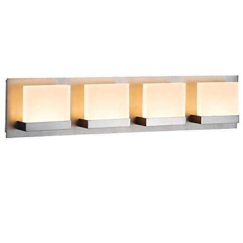 JINZO LED Bathroom Vanity Lighting Fixture Bathroom Lights Lights - Bathroom vanity lights chrome finish