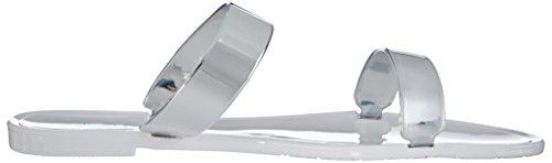 Buffalo XJ-05 PU - sandalias abiertas de material sintético mujer blanco - Weiß (WHITE 17)