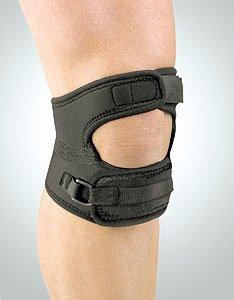 FLA Safe-T-Sport Patella Support, Black, Large