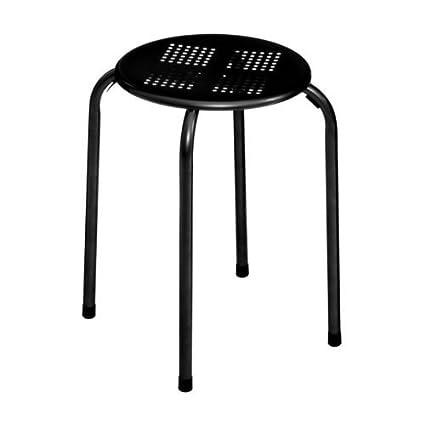Stupendous Ph New Look Modern Simple Black Metal Stacking Stool Home Uwap Interior Chair Design Uwaporg