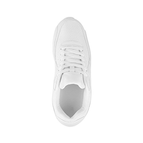 Unisex D'hommes Damen De Sneaker Herren Sport Course White Unisexe Scintillant Femmes Espadrille Chaussures Espadrilles Turnschuhe Elara Laufschuhe Blanc Chunkyrayan Paris Glitzer X4YBqCwC