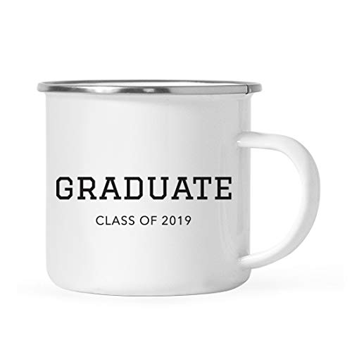 (Andaz Press 11oz. Graduation Stainless Steel Campfire Coffee Mug Gift, Graduate Class of 2019, 1-Pack, Includes Gift Box)