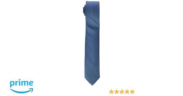 Calvin Klein Slim Corbata, Azul (Mint), talla única para Hombre ...