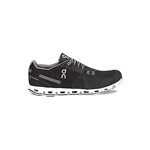 On-Mens-Cloud-Running-Shoes-Black-White-10-and-HDO-Workout-Visor-Bundle