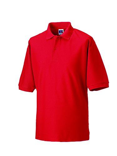 JerzeesHerren Poloshirt Rot Bright Red
