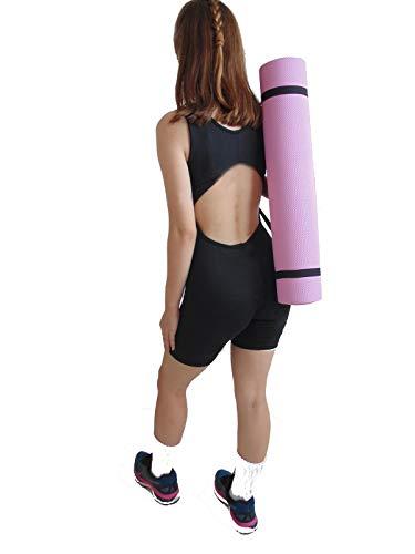 Tapete Colchonete Portatil com Alca para Yoga Pilates e diversos exercicios  173cmx61cmx0 6cm    Wct Fitness 5112