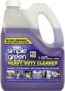 Simple Green 13421 Pro HD Heavy Duty Cleaner, 1 Gallon Bottle (4 Gallon w/2 sprayer) by Simple Green (Image #1)
