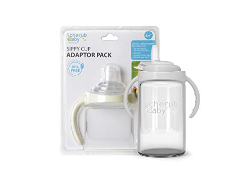 (Cherub Baby Wide Neck Sippy Cup Adapter)