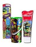 Best Colgate Toothbrush Holders - Nickelodeon Teenage Mutant Ninja Turtles Kids Turbo Powered Review