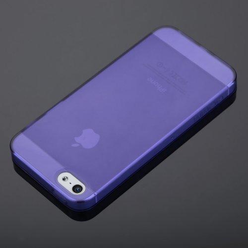 GGMM iPh01011 Pure-Plus Schutzhülle für Apple iPhone 5/5S violett