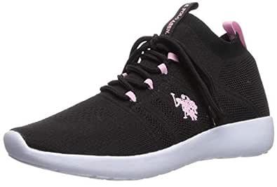 U.S. Polo Assn. Womens Astor-k Pink Size: 8.5 US