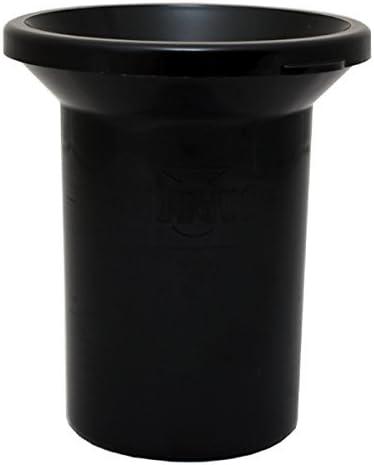 Mud Jug Roadie Spittoon for Discrete Smokeless Chew Disposal Black