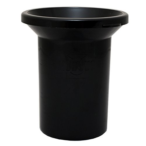 (Mudjug Roadie Portable Spittoon Traveler - Virtually Spillproof - Fits Most Cupholders)