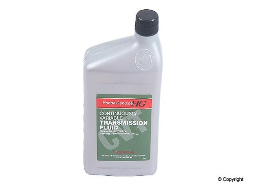 Genuine Honda (08200-9006-12PK) CVT-1 Continuously Variable Transmission Fluid - 1 Quart, (Pack of 12)