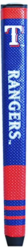 Team Golf MLB Texas Rangers Golf Putter Grip with Removable Gel Top Ball Marker, Durable Wide Grip & Easy to Control
