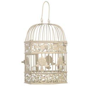 Cream hexagonal birdcage lamp shade amazon kitchen home cream hexagonal birdcage lamp shade aloadofball Image collections