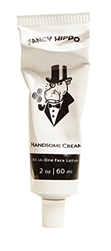 Handsome Cream All-in-One Face Lotion – Moisturizer & After Shave – Natural & Organic