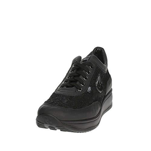Agile Donna By Bassa Sneakers Rucoline 1304 Nero ZrvFqHZ