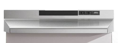 Broan F403604 Two-Speed Four-Way Convertible Range Hood, 36-Inch, Stainless Steel