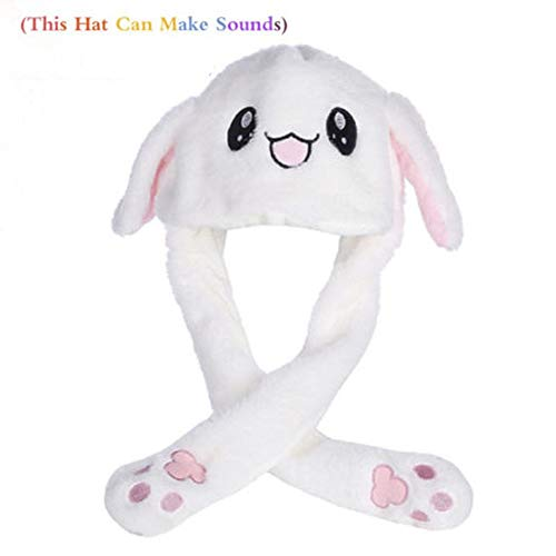 Used, Eyiou Funny Plush Hat Ear Moving/Jumping Rabbit Hat for sale  Delivered anywhere in Canada