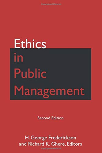 Ethics in Public Management