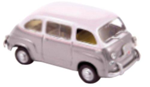 1/43 フィアット600 ムルティプラ 1956 グレー/ホワイト 770057